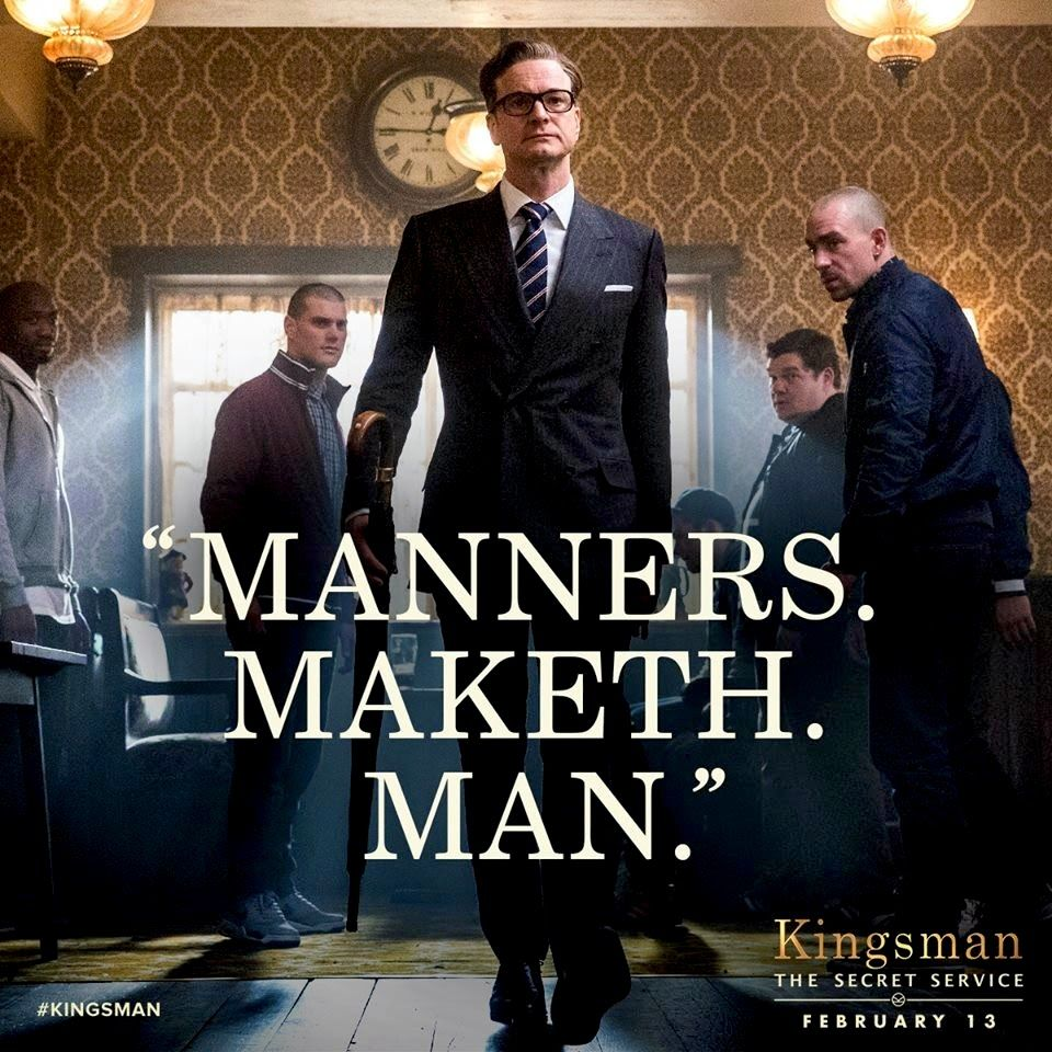 """Kingsman The Secret Service Quotes: """"Kingsman : The Secret Service"""" Quote"""