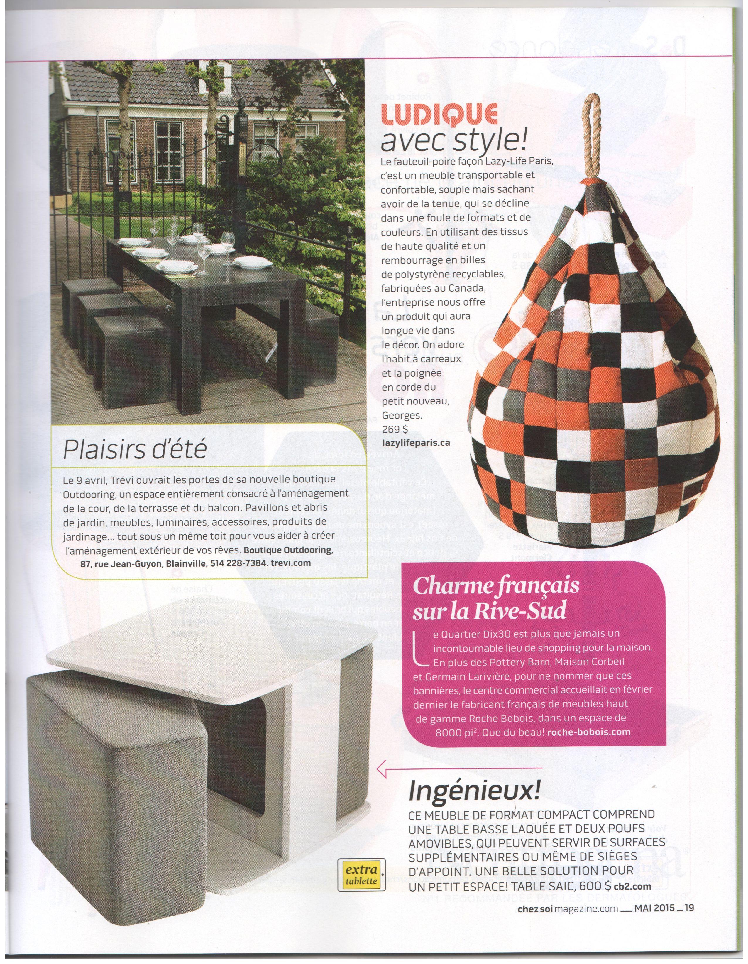 Table De Jardin Petit Espace > Le Fauteuil Poire Fa On Lazy Life Paris C Est Un Meuble