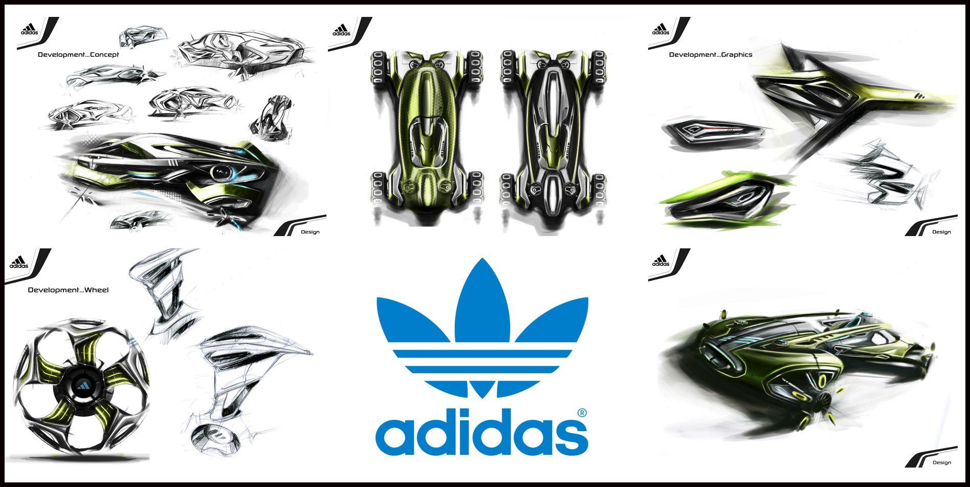 Chris duff s concept adidas roller sports car adidas car auto concept