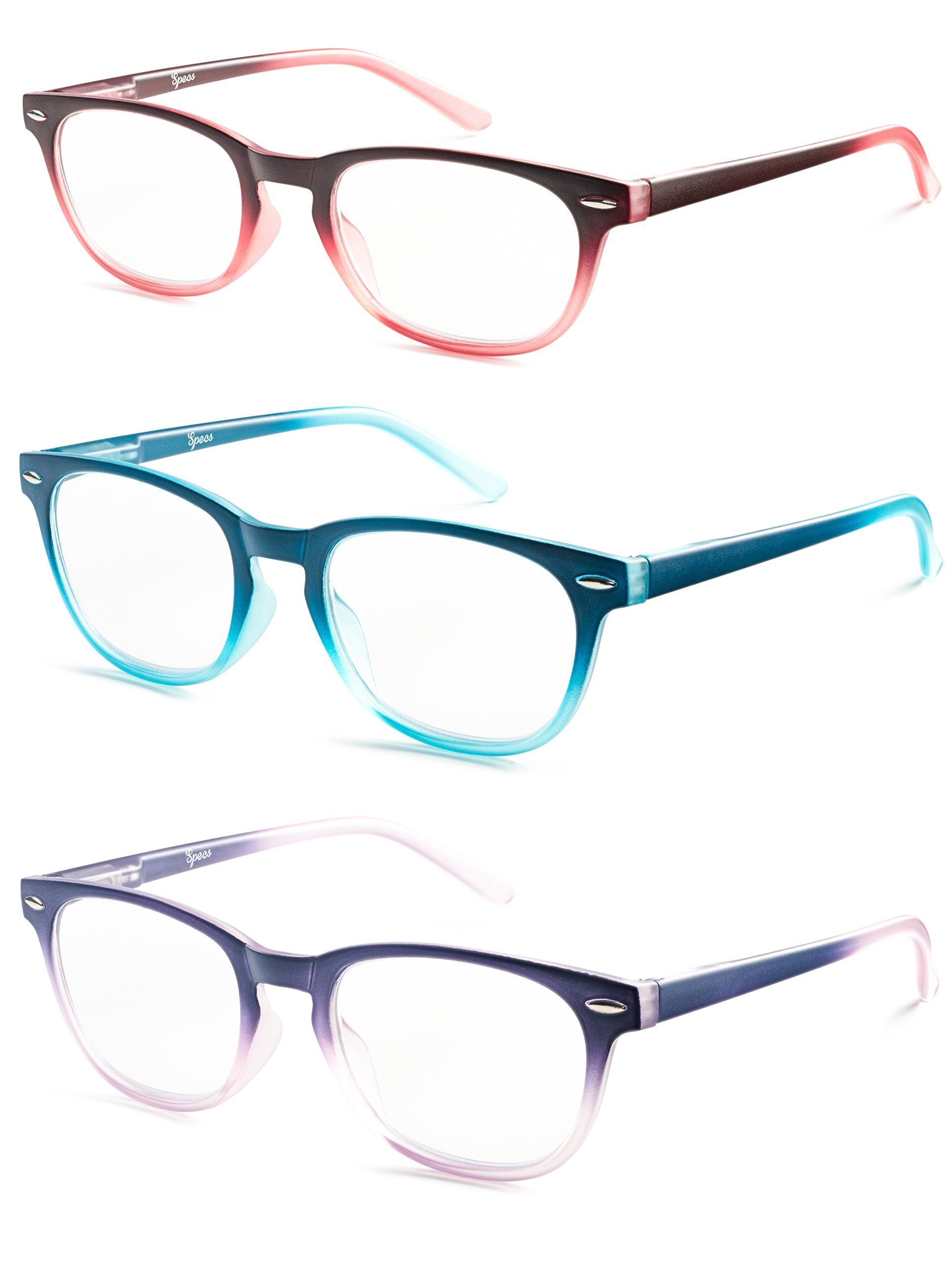 Colorful Round Womens Reading Glasses for Reading Set of