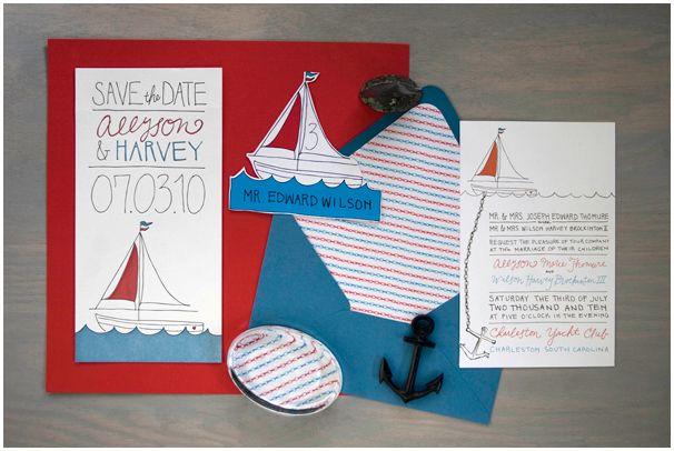 nautical invites