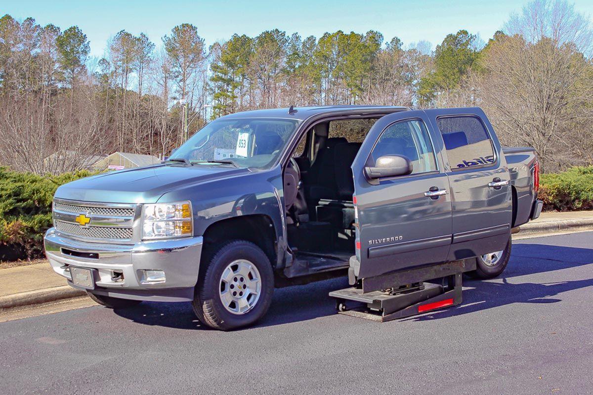 2012 Chevy Silverado 1500 4x4 Svm Retrofit Chevy Silverado 1500