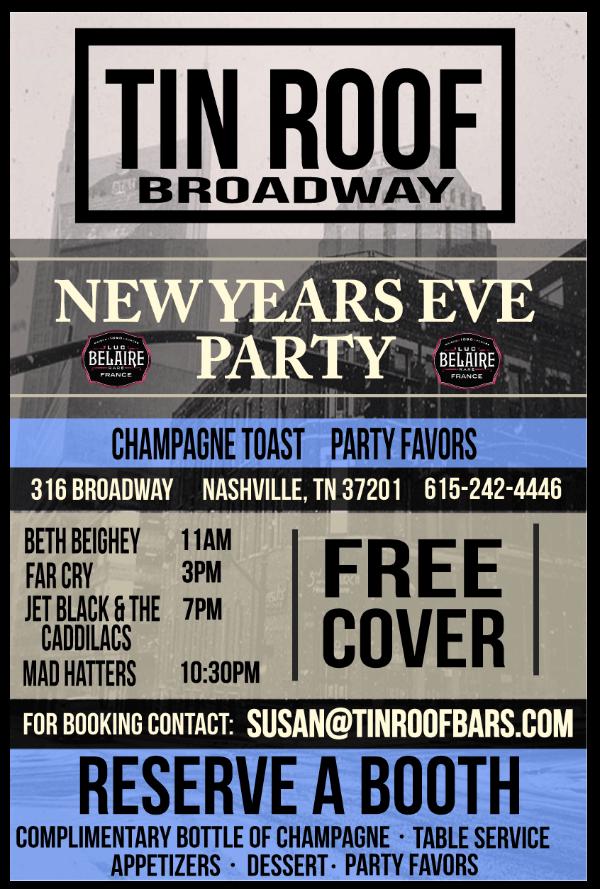 New Years Eve Nashville 20162017 Nashville Guru