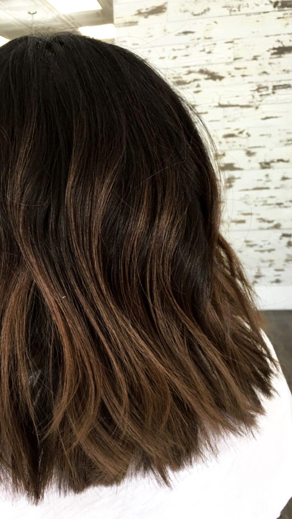Brunette Balayage Blended Hair By Kayla Common Rosevilleca Be