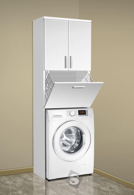 hoher badezimmerschrank ber waschmaschine badezimmer. Black Bedroom Furniture Sets. Home Design Ideas