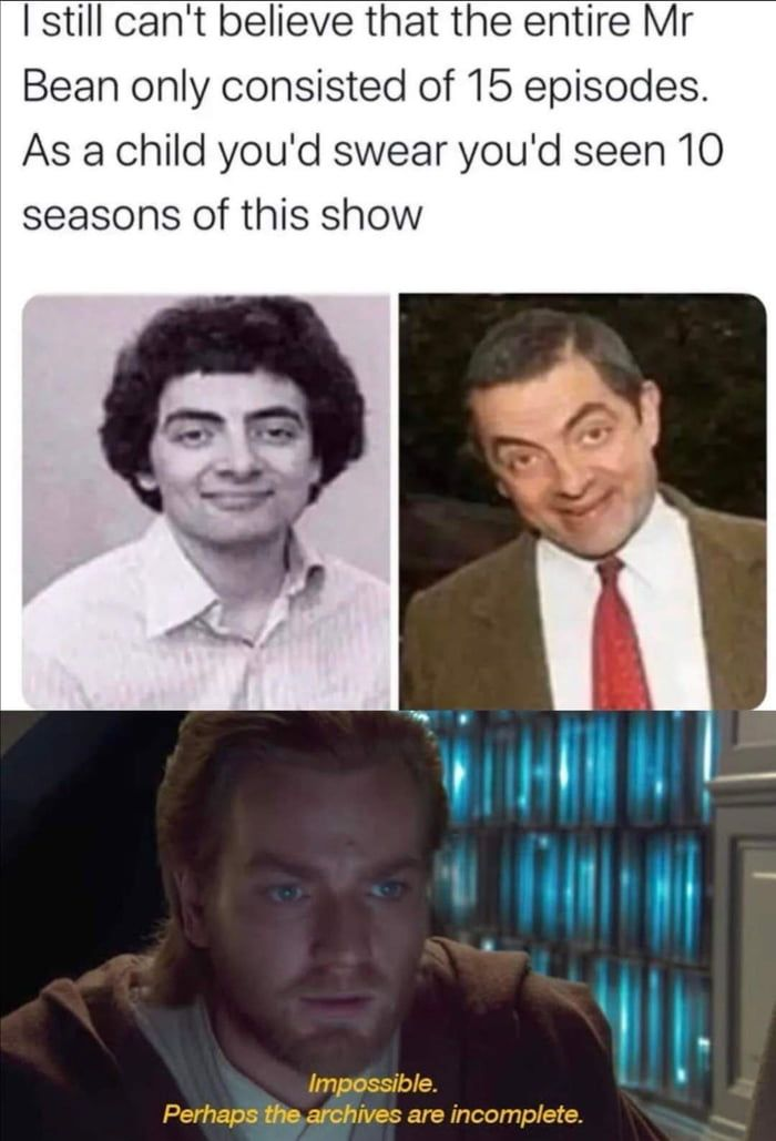Barely remembered those 15 episodes