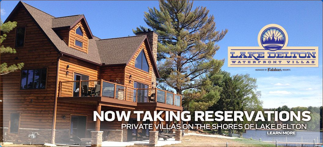Experience Our Lake Delton Waterfront Villas Wisdells This