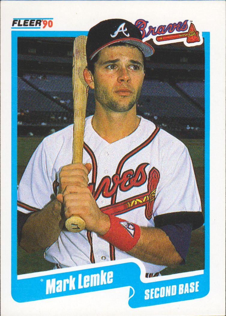 Mark Lemke Braves Baseball Atlanta Braves Baseball Braves