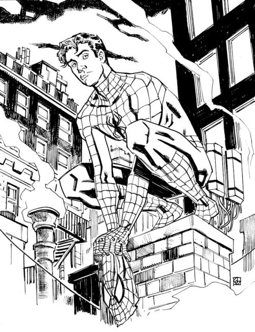 Peter Parker, Spider-Man by Dean Kotz