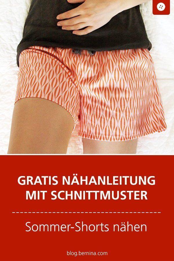 Photo of Instruções e padrões para calções de verão para se costurar