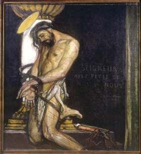 CHRIST A LA COLONNE