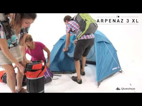 3e11982af Barraca de Camping 3 Pessoas Quechua Arpenaz 3 em Promoção - Decathlon