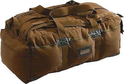 42232923263 Coyote Brown Military Israeli Mossad Duffle Bag Backpack 34