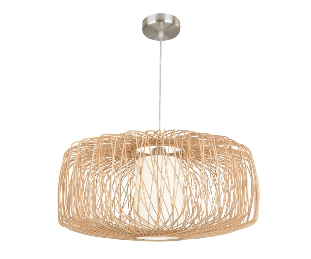 Beacon Pendant Lights Beacon Lighting Florida 580mm Wicker Pendant In Natural