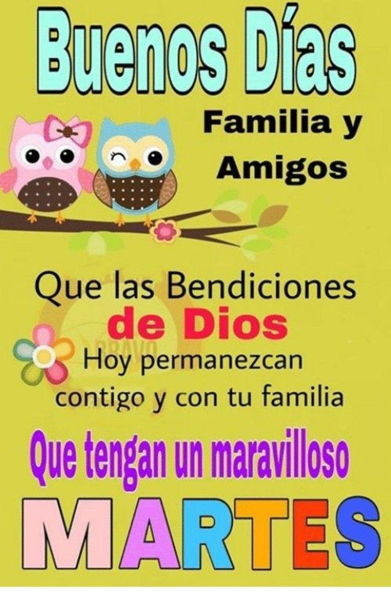 Feliz Martes Amigos 209 Bonitasimagenes Net Buenos Dias