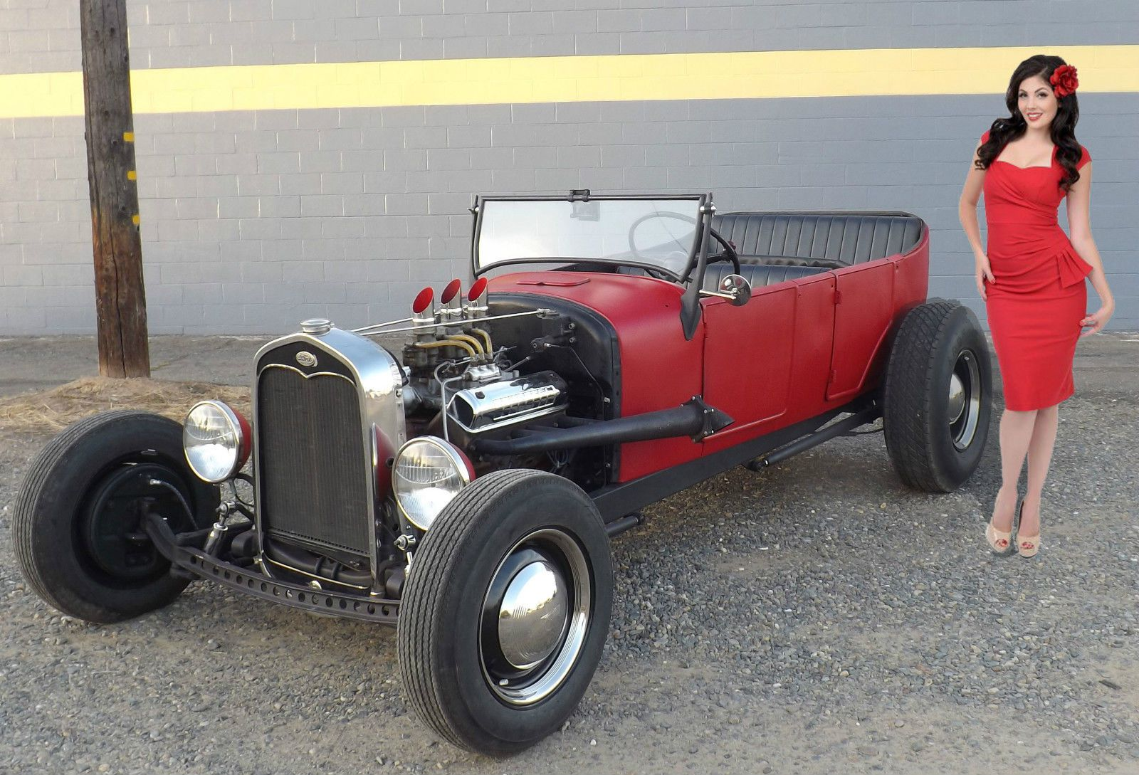 Ford Model A 1927 Touring T Traditional 50 S Tub Hot Rat Rod