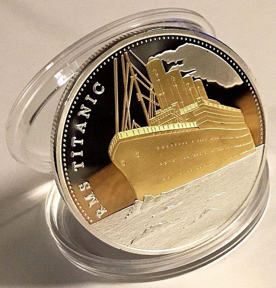 20 pcs of THE SHIP TITANIC  DESIGN 1 OZ Ounce Of Copper Bullion ROUNDS