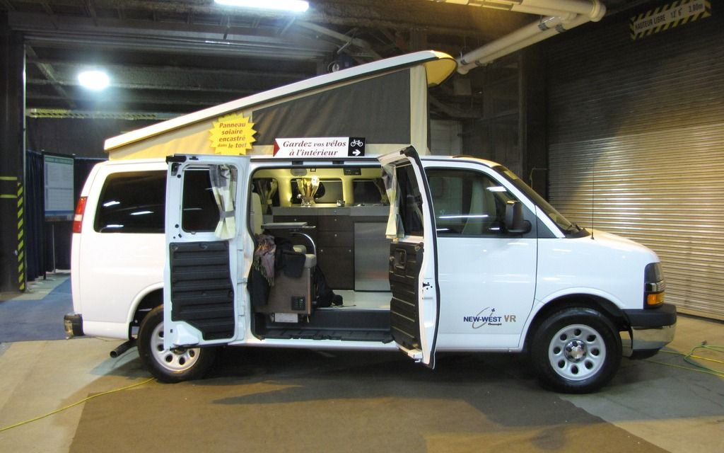 New West Vr Excursion Chevrolet Express Galerie Photo 13 40
