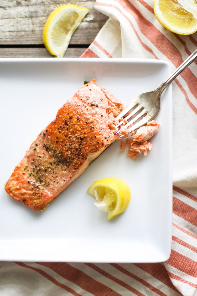 Easy Salmon on the Stove   Salmon on the stove, Cooking ...