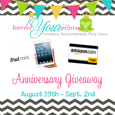 Forever Your Prints Blog: 3 Year Anniversary Giveaway!