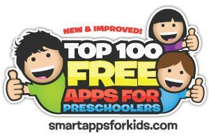 Did you know that our Top 100 FREE Apps for Preschoolers