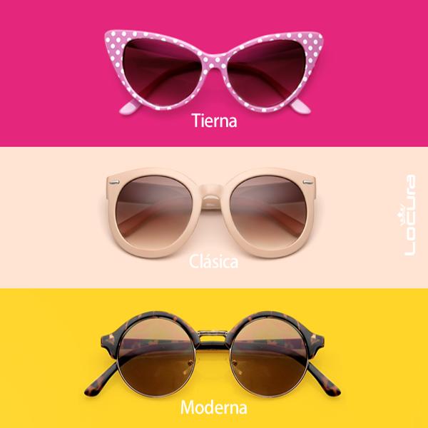 Los lentes que combinen con tu personalidad, ¿cuál eres tú?