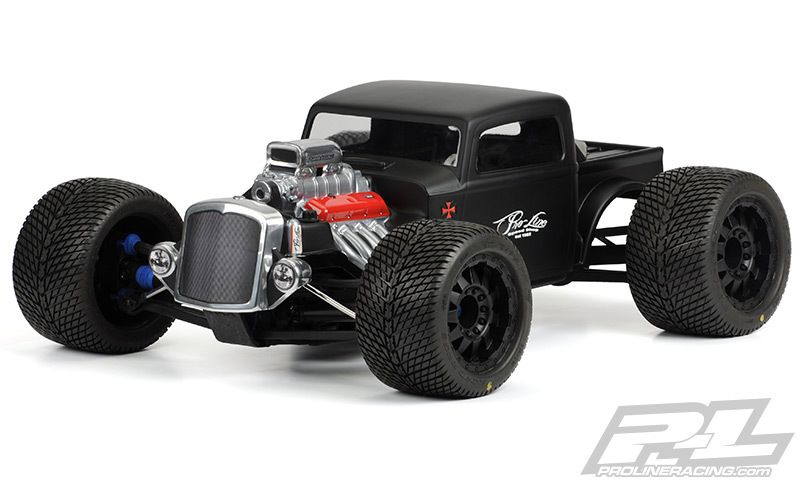 Rc Car And Truck Radio Control Remote Control Rc Planet >> Pro Line Rat Rod Clear 1 10 Monster Truck Body Pro341000 Rc4wd Tf2
