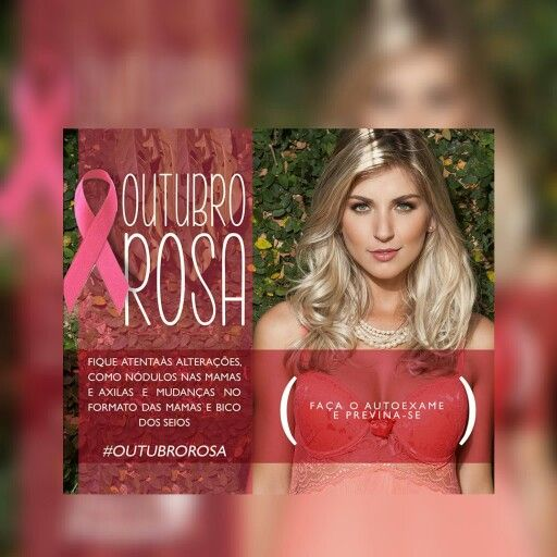 Outubro Rosa !  Cuide-se #annavictorialingerie #cuidese #outubrorosa