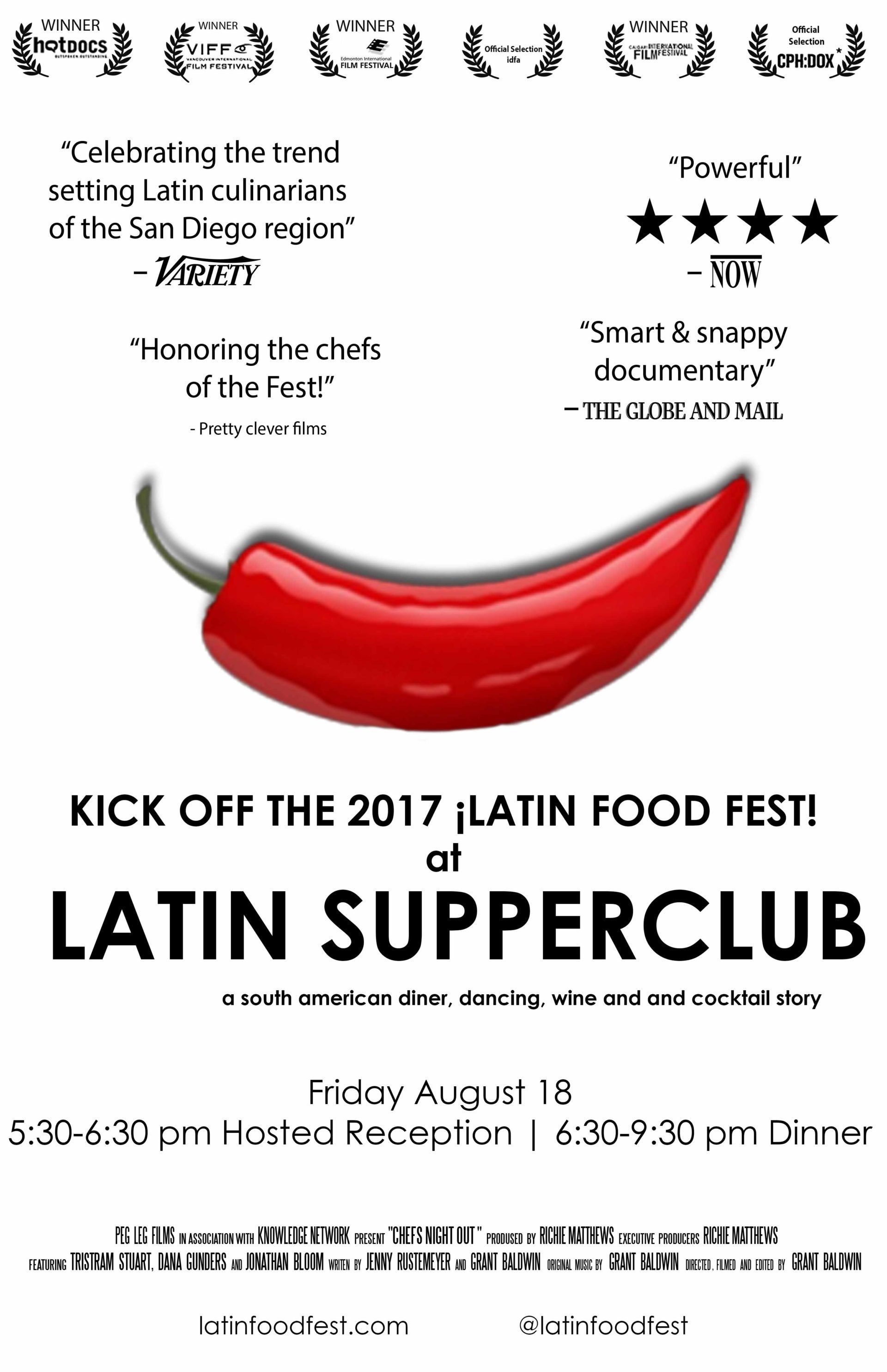 Begleiten Sie Weltbekannte Koche Zum Latin Supperclub Dinner Im Rahmen Von 2017 Lati 2020