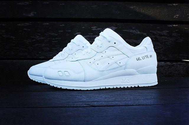 Buy asics gel lyte iii all white cheap