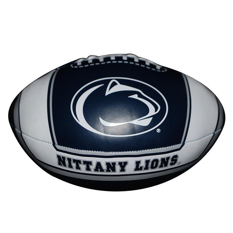 Penn State 8 Quick Toss Soft Football – Navy/White