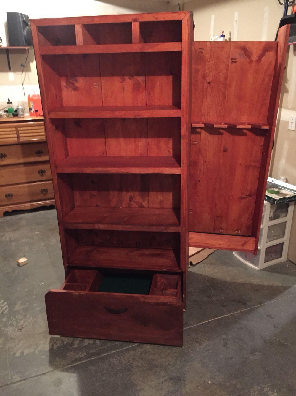 Hidden gun cabinet wood pinterest hidden gun cabinets hidden
