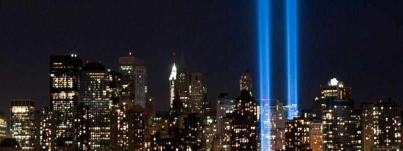 World Trade Center- Light Beams