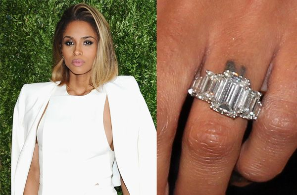 Prepare To Be Blinded By These Gorgeous Celebrity Engagement Rings Celebrity Engagement Rings Engagement Rings Rings