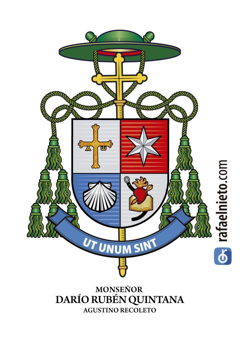 Resultado de imagen para Escudo de monseñor Darío Quintana
