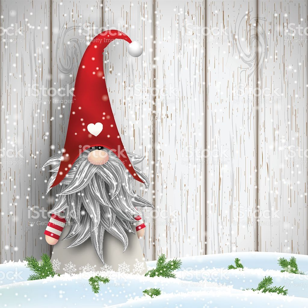 Scandinavian Christmas Traditional Gnome Tomte Illustration Royalty Free Stock Vector Art Viking Christmas Painted Christmas Ornaments Scandinavian Christmas