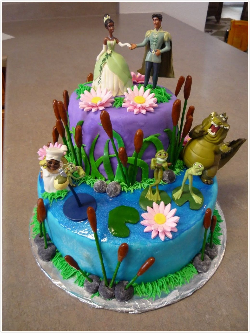 Princess And The Frog Birthday Cakes For Girls Picture Ideas