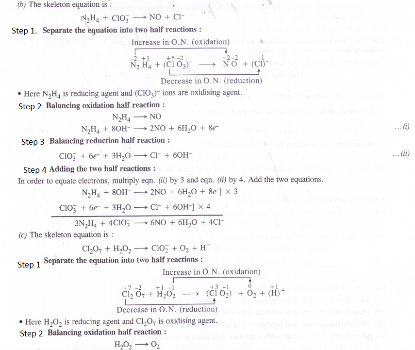 Ncert Solutions For Class 11 Chemistry Chapter 8 Redox Reactions 026 Redox Reactions 11th Chemistry Chemistry