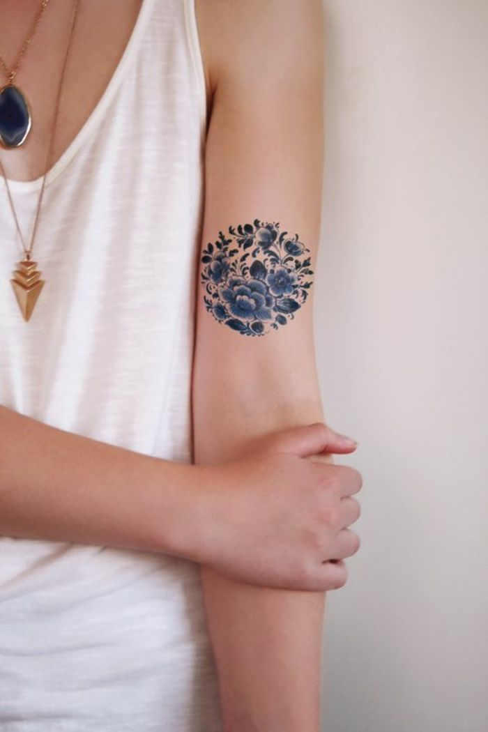 1001 Ideas For Beautiful Flower Tattoos And Their Secret Meaning