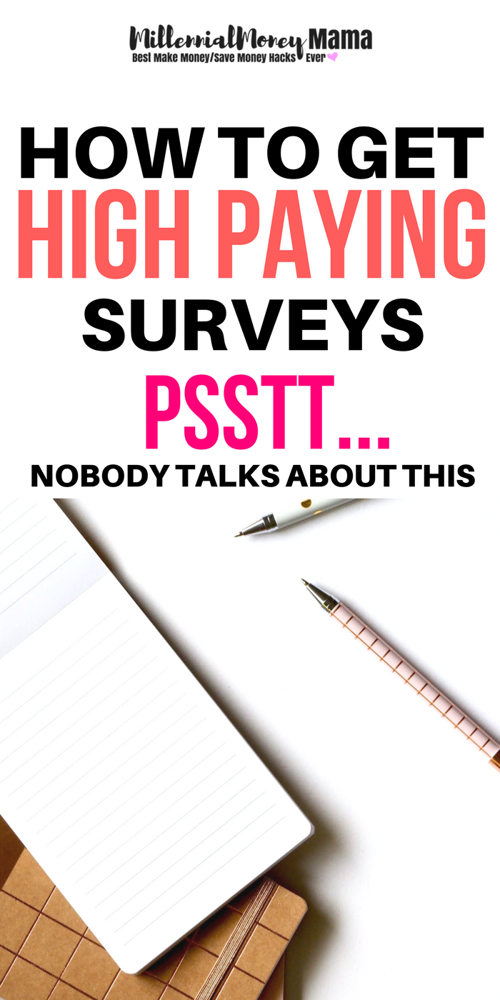 High Paying Surveys