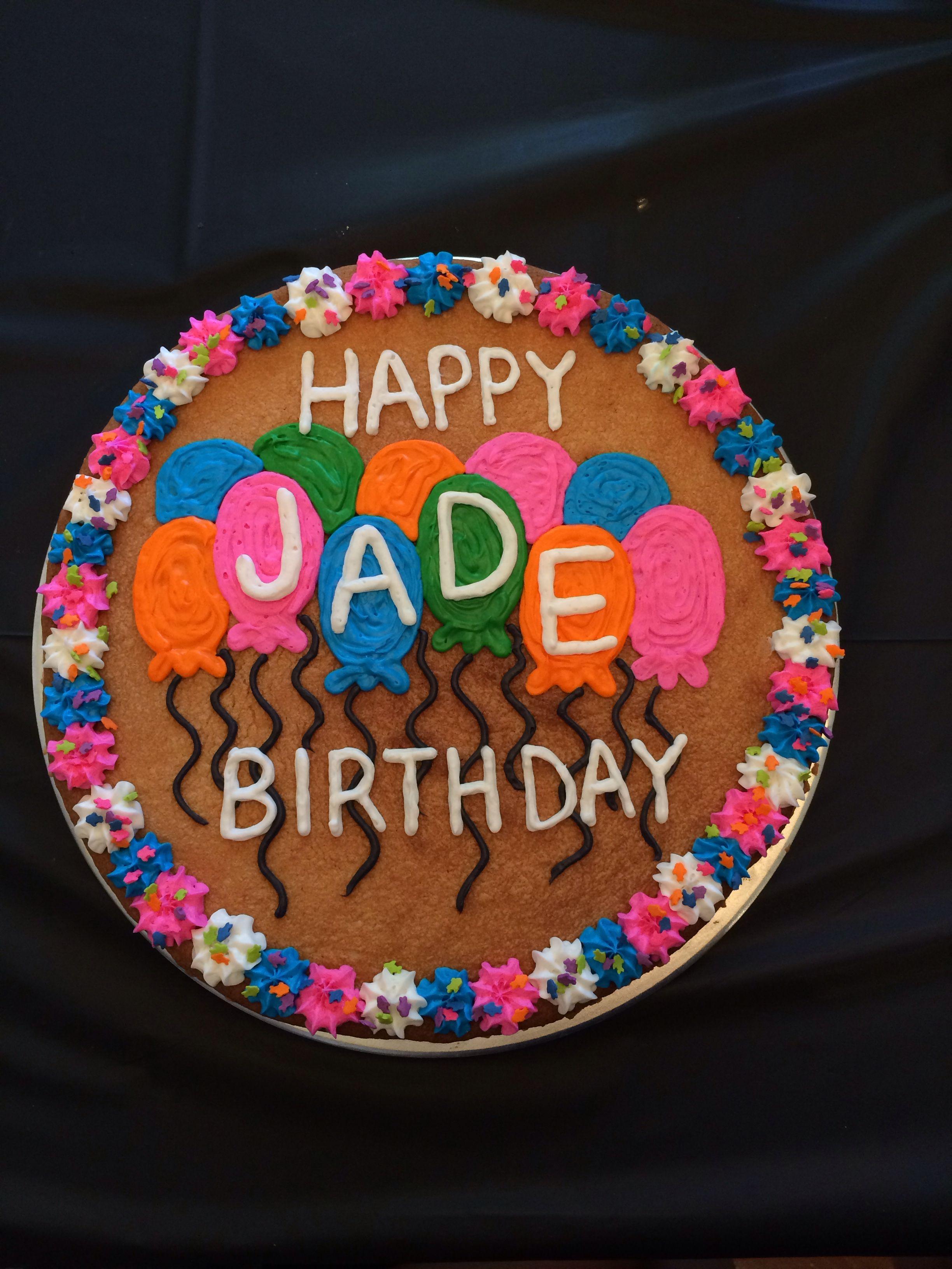 Happy Birthday Jade Made By Alex Duncan