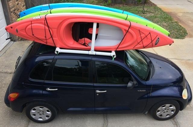 Photo of How to make your own car-top kayak rack | Kurt's Blog