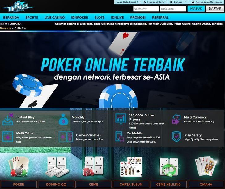Agen Idn Poker Deposit Pulsa Tanpa Potongan Poker Agen Funny Jokes