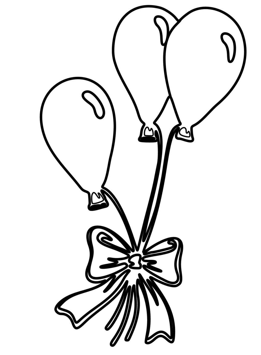 Birthday Balloons Coloring Pages Coloring Page Birthday Balloon Colorings Astonis In 2020 Birthday Coloring Pages Coloring Pages For Kids Happy Birthday Coloring Pages