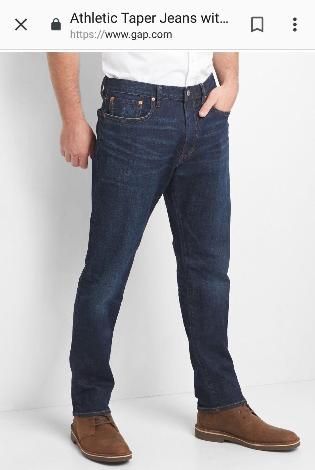 Gap Athletic Men S Jeans 32 X 30 Nwt 60 Vaqueros Hombre Pantalones Vaqueros Hombre Combinacion De Ropa Hombre