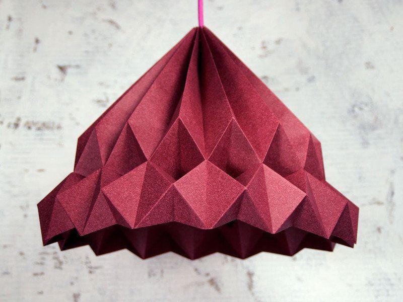 Die Schnsten Origami Lampen