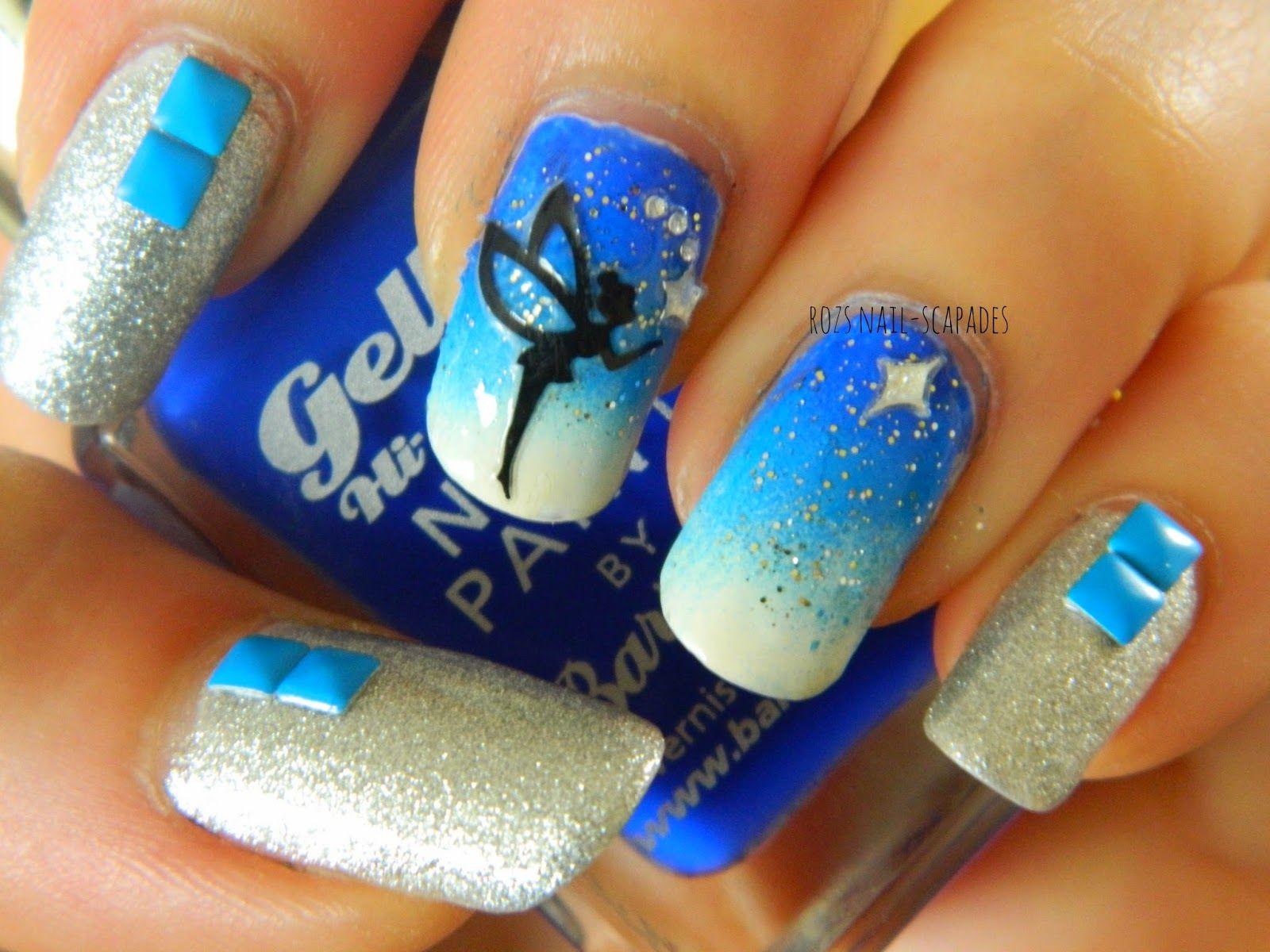 International Nail Art Day 2014, pixie gradient   nails   Pinterest ...