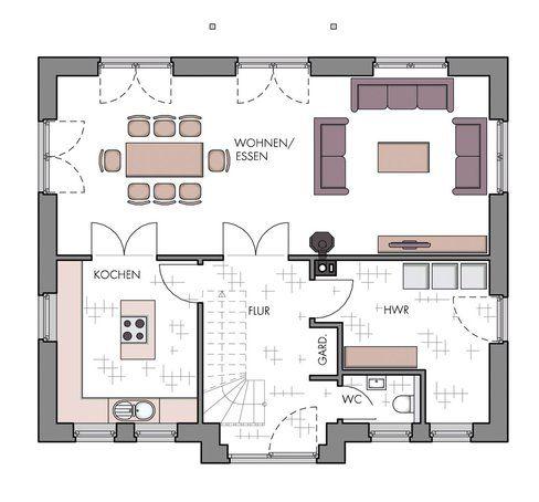 Grundriss: Landhaus