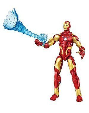 Disney Marvel Universe Modular Armor Iron Man Action Figure -- 4'' H by Disney. $7.79. . Poseable . Figure stand included. Includes Repulsor Blast accessory. Plastic . 4'' H. Imported. Ages 4+. See all our Marvel Universe action figures, each sold separately.. Save 18% Off!