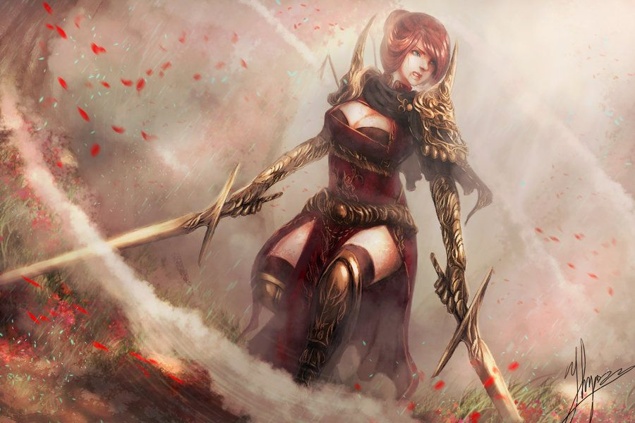 Echoes of the Sword by shizen1102.deviantart.com on @DeviantArt